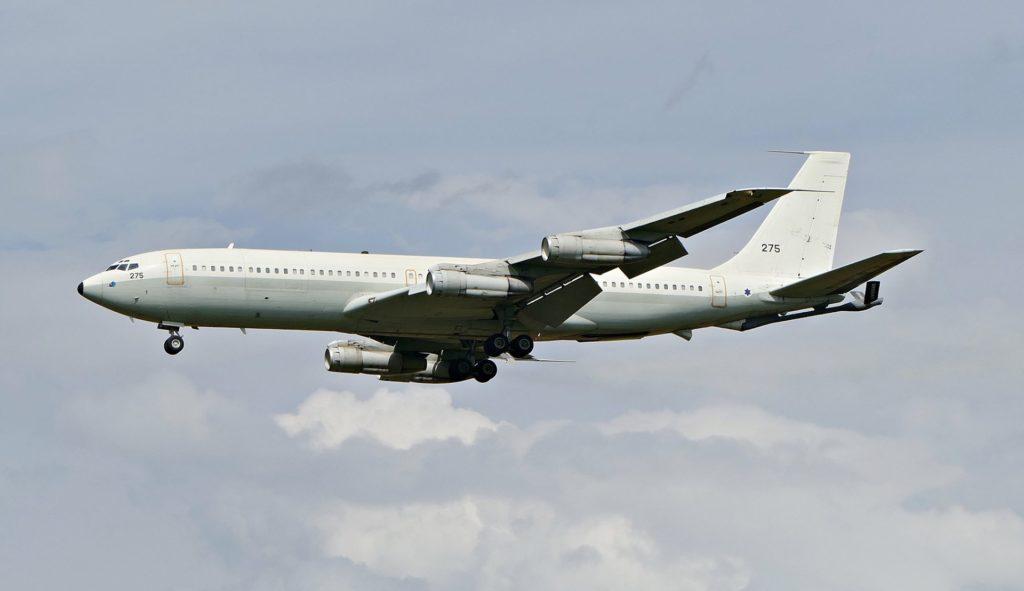 Eine Boeing 707 der israelischen Air Force. Aufgenommen von Jörg Schumacher.