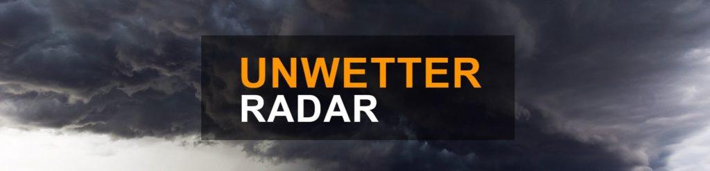 Unwetterradar-Slider
