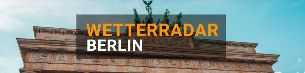 Wetterradar Berlin groß