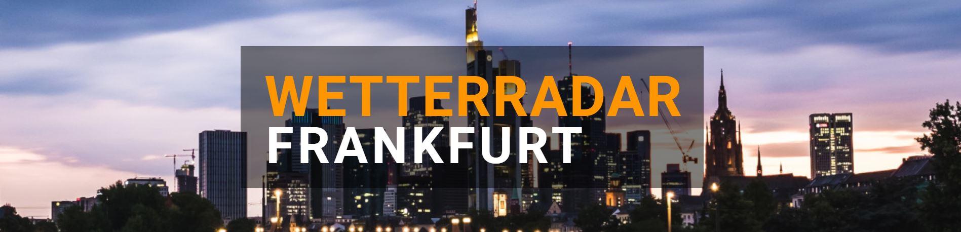 Wetterradar Frankfurt groß