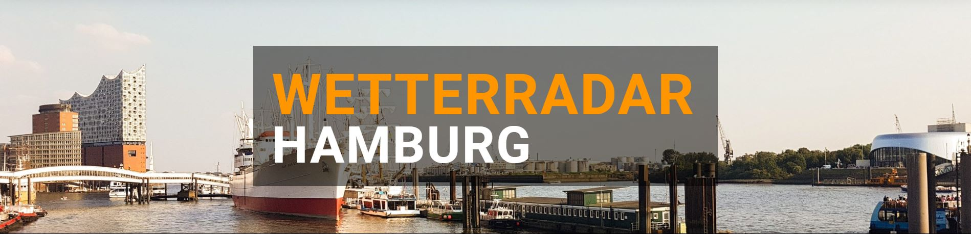 Wetterradar Hamburg groß