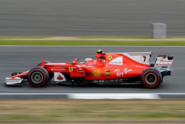 Hintergrund des Formel 1 Wetters