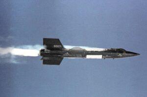 X-15 im Flug
